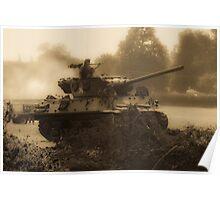 WW2 Tank Poster