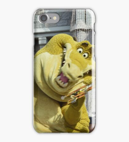 Lewis Louis Crocodile Alligator Louis Armstrong Trumpet iPhone Case/Skin