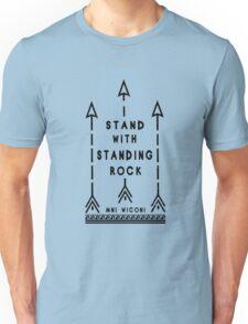 RockRockRock T-shirt, Standing Rock Unisex T-Shirt