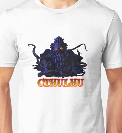 CTHULHU BLUE HP LOVECRAFT Unisex T-Shirt