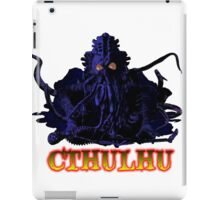 CTHULHU BLUE HP LOVECRAFT iPad Case/Skin