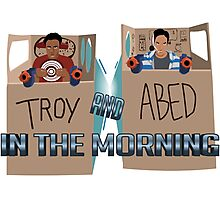 Troy And Abed In Space Photographic Print