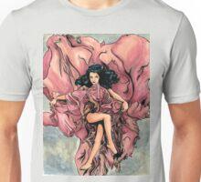 Red Rose Deity Unisex T-Shirt