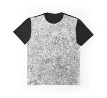 Messy Crosshatching On Paper Graphic T-Shirt