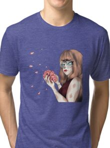 Sad Flower Tri-blend T-Shirt