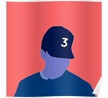 Chance the Rapper 3 Coloring Book Poster