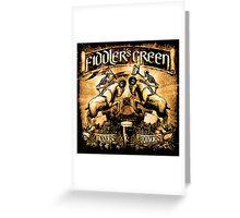 FIDDLER'S GREEN WINNERS & BOOZERS Greeting Card