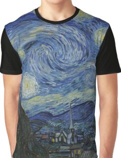 Starry Night (Vincent van Gogh) Graphic T-Shirt
