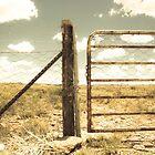 Farm gate by lightwanderer
