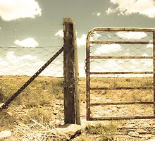 Farm gate by lightwanderer