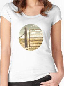 Farm gate Women's Fitted Scoop T-Shirt