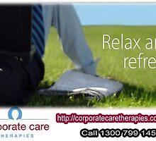 Corporate massage – At Desk Massage - Workplace Massage Therapy by deskmassage