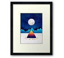 The magic of winter Framed Print