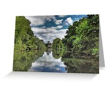 River Bure Wroxham to Coltishall Greeting Card