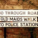 Sign in Ross-on-Wye by AnnDixon
