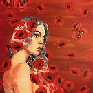 Poppy Fall by Kanchan Mahon