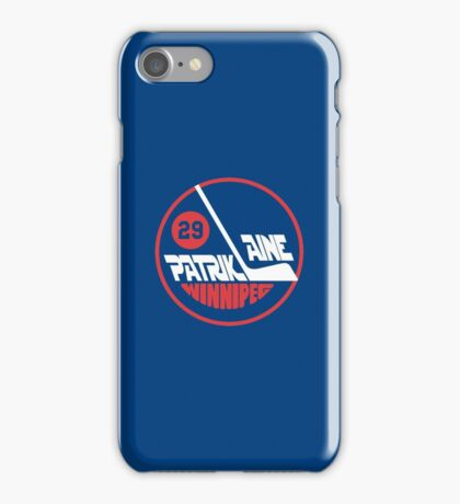 Patrik Laine Jets Logo iPhone Case/Skin