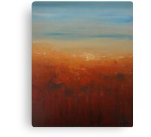 Sunburnt Country Canvas Print