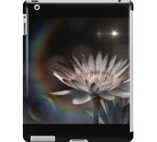 monochrome lily and light iPad Case/Skin