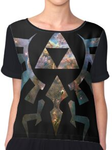 Triforce Chiffon Top