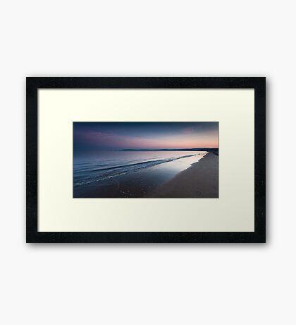 Swansea bay and Mumbles Framed Print