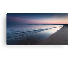 Swansea bay and Mumbles Canvas Print