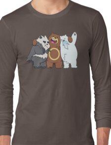 Poke Bare Bears Long Sleeve T-Shirt
