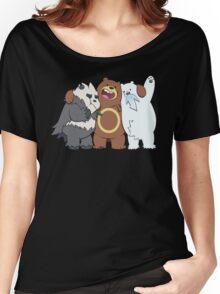 Poke Bare Bears Women's Relaxed Fit T-Shirt