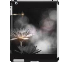 monochrome lily and glow iPad Case/Skin