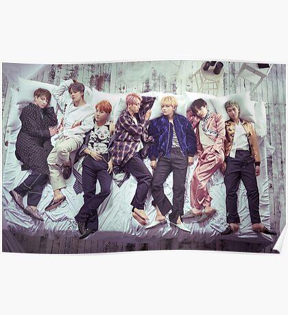 BTS Wings Album - Sleep Poster