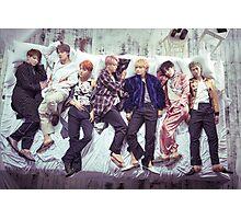 BTS Wings Album - Sleep Photographic Print