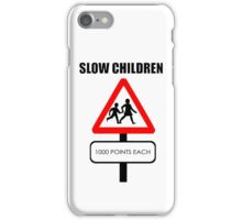 Slow Children 1000 points each iPhone Case/Skin