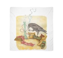 Crow with Hookah Scarf
