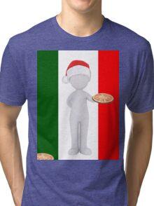 italian christmas  Tri-blend T-Shirt