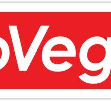 Go Vegan Supreme Sticker