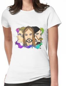 Tame Impala - Three Wise Australians (colored) Womens Fitted T-Shirt