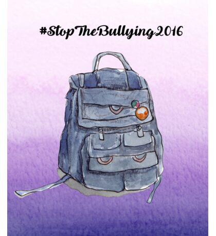Stop the Bullying 2016  Sticker