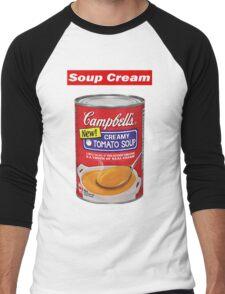 "Supreme ""Soup Cream"" Men's Baseball ¾ T-Shirt"
