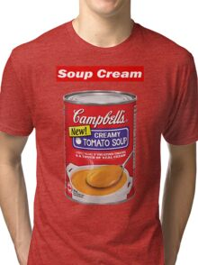 "Supreme ""Soup Cream"" Tri-blend T-Shirt"