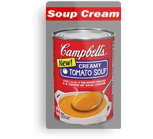 "Supreme ""Soup Cream"" Metal Print"