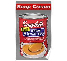"""Supreme """"Soup Cream"""" Poster"""