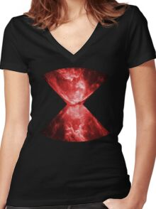 Widow Women's Fitted V-Neck T-Shirt