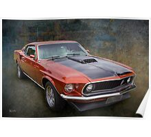 Ford Muscle Poster