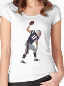 Touchdown Spike Women's Fitted Scoop T-Shirt