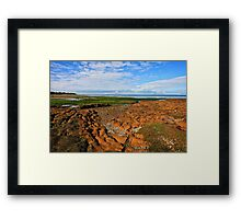 Low Tide Rickett's Point ll Framed Print