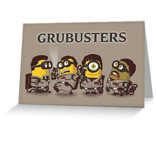 Grubusters Greeting Card