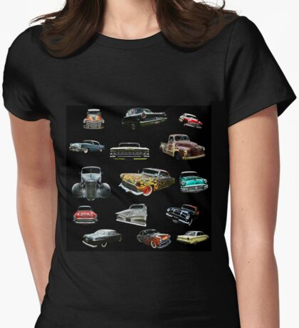 Hot Rod Heaven Womens Fitted T-Shirt