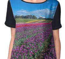 Tulip Fields Chiffon Top