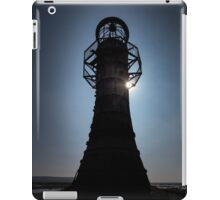 Whitford lighthouse north Gower iPad Case/Skin