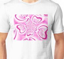 Pink Hearts Unisex T-Shirt